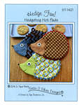Susie C Shore Designs - Hedge Fun - Hedgehog Hot Pads