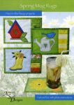 Spring Mug Rugs w/ Embroidery CD by Amelie Scott Designs