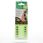 Clover Wonder Clips - Neon Green - 10 count