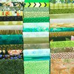Five Fat Quarter Bundle - Green