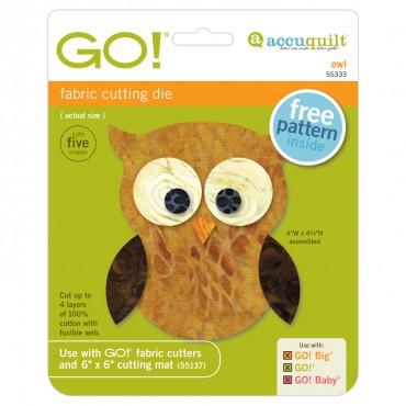 Accuquilt Die GO! 55333 Owl
