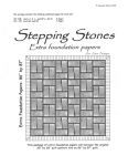 Stepping Stones Extra Foundation Paper