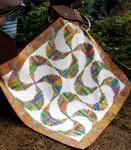 Cut Loose Press - Rainbow Swirls Quilt Pattern