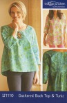 Indygo Junction: Gathered Back Top & Tunic
