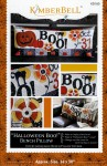 Halloween Boo Bench Pillow KimberBell Designs