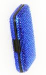 Bling Scan Safe Wallet Blue