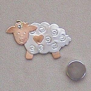 Bo-Peep Sheep Needle Nanny by Puffin & Company