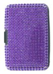Bling Scan Safe Wallet Purple