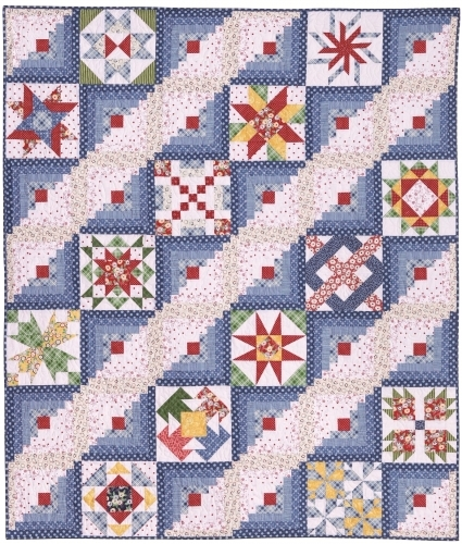 2018 - Block Party Fabric Kit - Circa 1940s