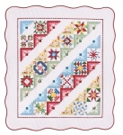 2018 - Block Party Fabric Kit - Wall Hanging Forty Fabulous Kit