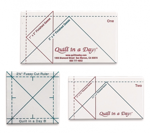 Mini Geese Ruler Set by Quilt in a Day