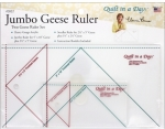 Jumbo Geese Ruler Set by Quilt in a Day