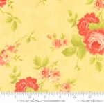 MODA FABRICS - Chantilly - Roses Sunshine