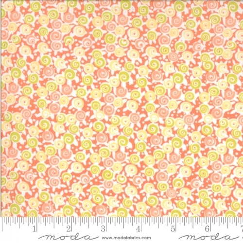 MODA FABRICS - Chantilly - Tiny Floral Salmon - #2383-