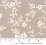 MODA FABRICS - All Hallows Eve - Fig Tree Quilts - Seasonal Halloween Woodblock Floral - Grey - Fog