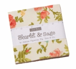 Scarlet & Sage Charm Pack by Fig Tree Quilts Moda Precuts