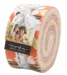 Strawberries Rhubarb Jelly Roll by Fig Tree And Co Moda Precuts