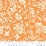 MODA FABRICS - Pumpkins Blossoms by Fig Tree And Co - Vines - Pumpkin