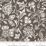 MODA FABRICS - Pumpkins Blossoms by Fig Tree And Co - Vines - Charcoal