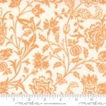 MODA FABRICS - Pumpkins Blossoms by Fig Tree And Co - Vines - Vanilla Pumpkin