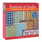 Puzzle - Festival Of Quilts Jigsaw Puzzle by Bonnie K Hunter