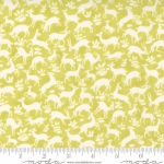 MODA FABRICS - Pumpkins Blossoms by Fig Tree And Co - Deer Forest - Sprout