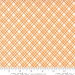 MODA FABRICS - Pumpkins Blossoms by Fig Tree And Co - Plaid - Pumpkin