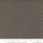 MODA FABRICS - Pumpkins Blossoms by Fig Tree And Co - Circles - Charcoal