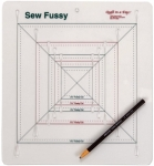 Sew Fussy Ruler by Quilt in a Day