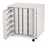 Arrow Mod Squad Modular 5 Thread Sewing Cabinet Unit White Drop Ship