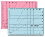 Blue/Pink Double Sided Cutting Mat 9.5 x 12.5