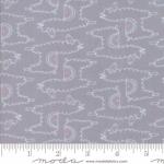 MODA FABRICS - Soft Sweet Flannel - Gray/White Llamas