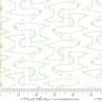 MODA FABRICS - Soft Sweet Flannel - Cream/Blue Llamas - FLANNEL