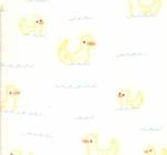 MODA FABRICS - Soft Sweet Flannel - Pale Yellow Ducks - FLANNEL