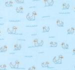 MODA FABRICS - Soft Sweet Flannel - Blue Ducks - FLANNEL