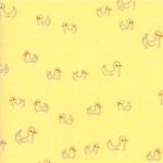 MODA FABRICS - Soft Sweet Flannel - Yellow Ducks - FLANNEL