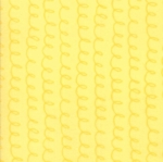 MODA FABRICS - Soft Sweet Flannel - Yellow Tonal Curliques - FLANNEL