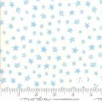 MODA FABRICS - Soft Sweet Flannel - Cream/Blue Stars