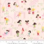 MODA FABRICS - Best Friends Forever - Playing Pink
