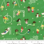 MODA FABRICS - Best Friends Forever - Playground Green
