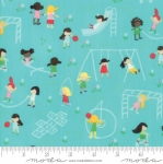 MODA FABRICS - Best Friends Forever - Playground Aqua