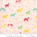 MODA FABRICS - Best Friends Forever - Horses Pink - #1825
