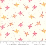 MODA FABRICS - Best Friends Forever - Pinwheels Cream