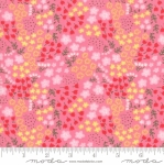 MODA FABRICS - Best Friends Forever - Tiny Flowers Bright Pink