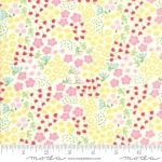 MODA FABRICS - Best Friends Forever - Tiny Flowers White