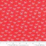 MODA FABRICS - Best Friends Forever - White Bows Red