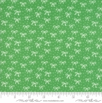 MODA FABRICS - Best Friends Forever - White Bows Green