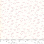 MODA FABRICS - Best Friends Forever - Pink Bows White