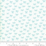 MODA FABRICS - Best Friends Forever - Aqua Bows Cream