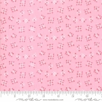MODA FABRICS - Best Friends Forever - Tic Tac Toe Pink - #1821
